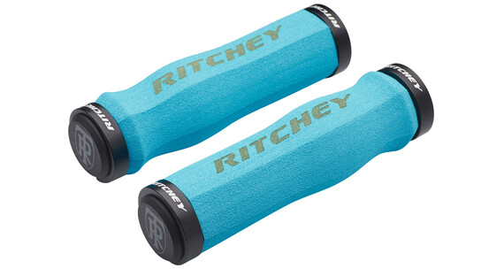 Ritchey WCS Ergo True Grip Cykelhåndtag Lock-On blå/turkis